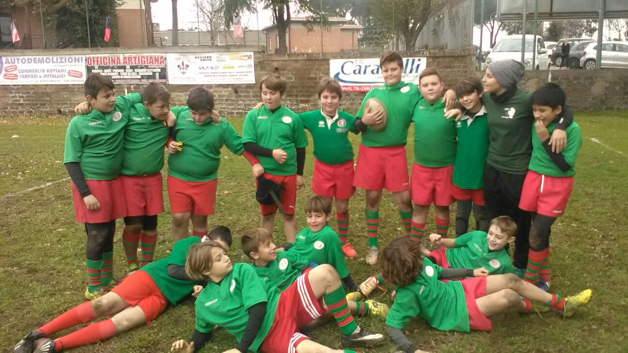Under 12 in concentramento a Civita Castellana