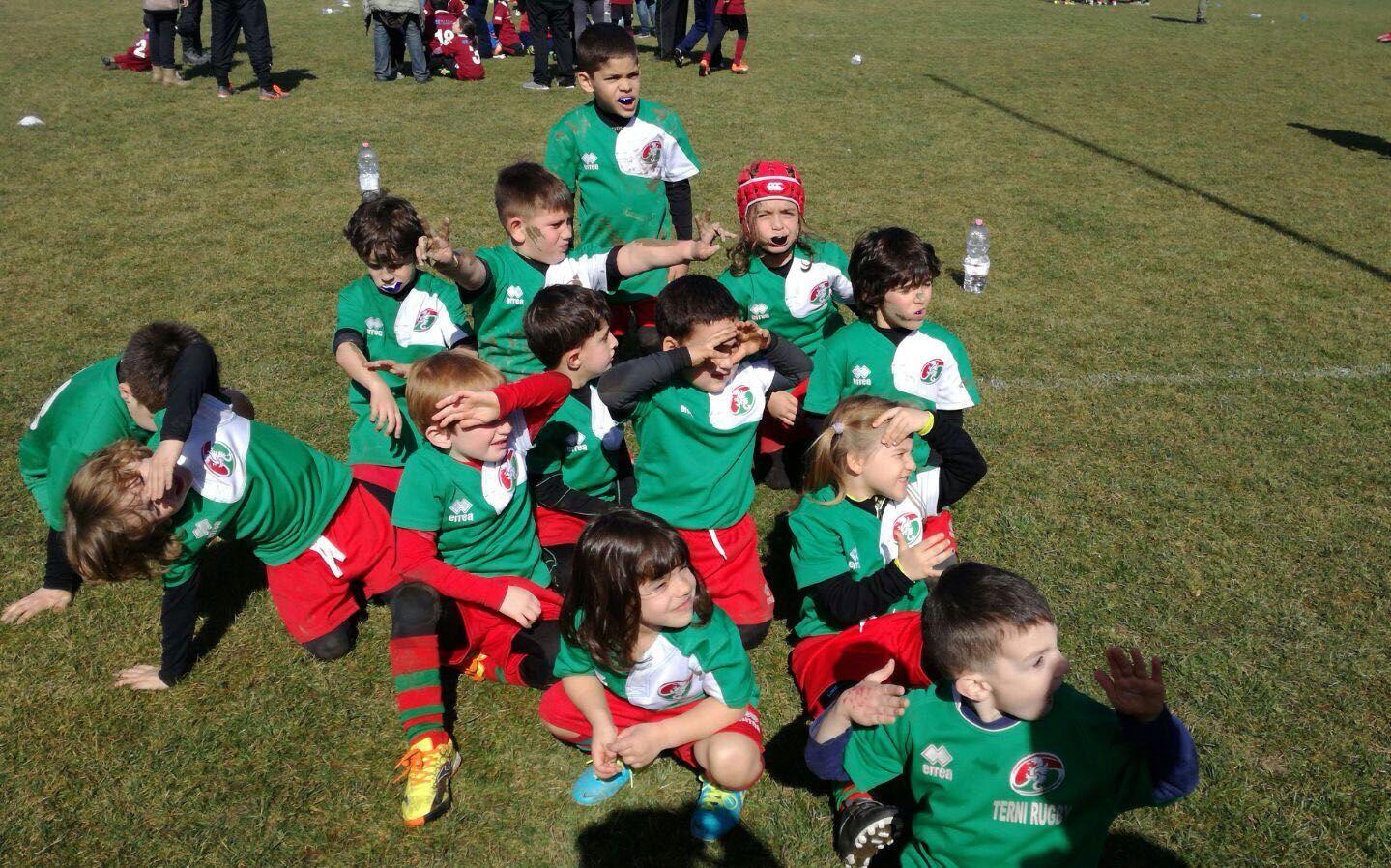 Il concentramento del mini rugby a Città di Castello, l'Under 16 a Prato