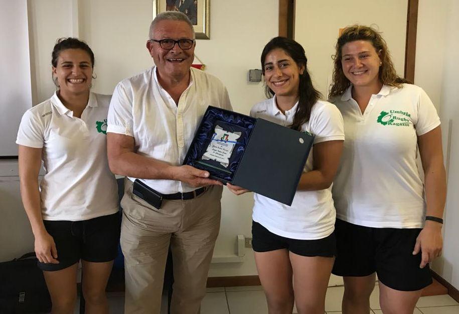 Il CRU della Fir premia le Iguane per il terzo posto in Coppa Italia